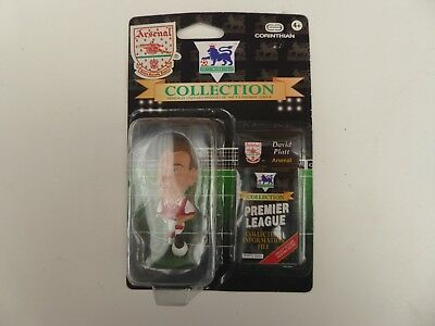 Brand New Rare Corinthian Arsenal David Platt Football Figure