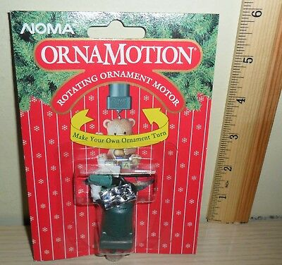 New Old Stock ~ Noma Ornamotion ~ Rotating Ornament Motor