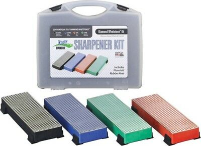 DMT DMTW6EFCXKIT Sharpener Kit w/4 Diamond Whetstones & Storage Case