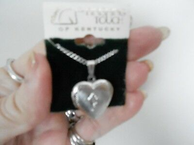 The Finishing Touch Of Kentucky Derby Horse Equestrian Photo Necklace New