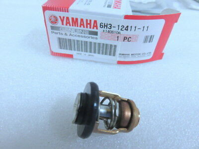 H5B New Genuine Yamaha 6H3-12411-11-00 Outboard 2 Stroke Thermostat Factory OEM