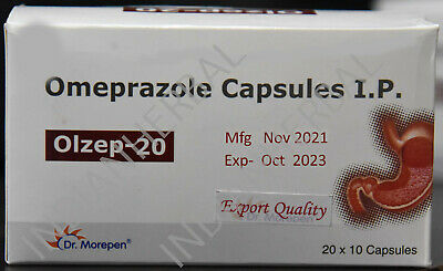 OTC Omeprazole 20mg 200/400/600/1000 Capsules Acid Reducer EXP- Feb 2021.