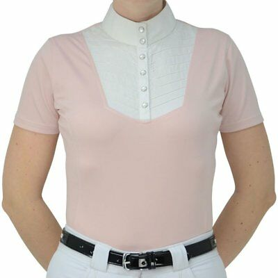 Hy Fashion Rebecca Womens Shirt Competition - Champagne Pink All Sizes