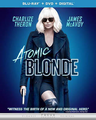 Atomic Blonde (Blu-ray Disc, 2017)