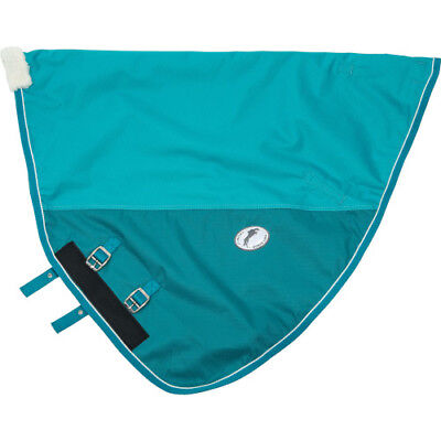 Jhl Essential Turnout Unisex Horse Rug Neck Cover - Turquoise All Sizes