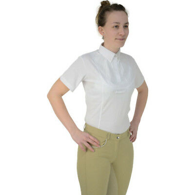 Hy Fashion Tilbury Short Sleeved Womens Shirt Competition - Yellow All Sizes