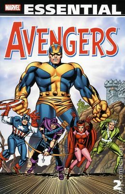 Essential Avengers TPB (2005- Marvel) 2nd Edition 2-1ST 2010 NM Stock Image