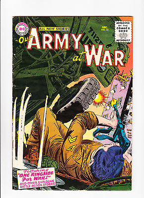 """Our Army At War  No.53  :: 1956 ::   :: """"One Ringside For War!"""" ::"""
