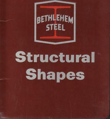 1967 Bethlehem Steel Structural Shapes Cat#2331 Wire Bound Flexible Cover V Good