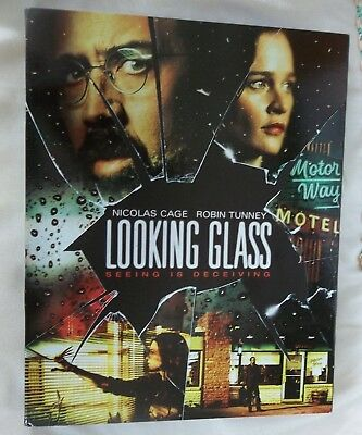 Looking Glass (Blu-ray Disc, 2018) NEW Sealed W/ Slipcover NICOLAS CAGE