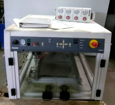 "Asymtek C-341 Conformal Coating System, 18 x 18"" Bed, Speed: X-Y 15in/s Z 8in/s"
