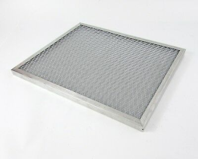 Applied Air Filters Stainless Steel Panel Filter - 20 x 16 x 1 Nominal