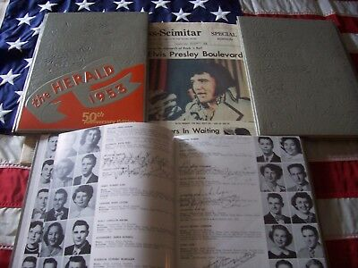 Elvis Presley  1953 Humes High School Year Book Memphis Tennessee Complete