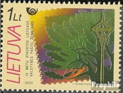 Lithuania 738 (complete issue) unmounted mint / never hinged 2000 Stamps