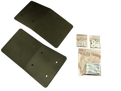 Two Piece Truck Ramp for ATV, Dirtbike and Lawnmowers