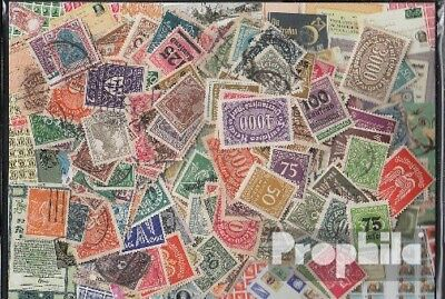 German Empire 250 different stamps  out Inflation 1919 until 1923 without Depend