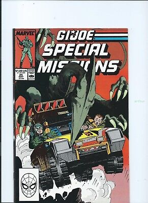 G.I. Joe Special Missions #25 (Sep 1989, Marvel) VF