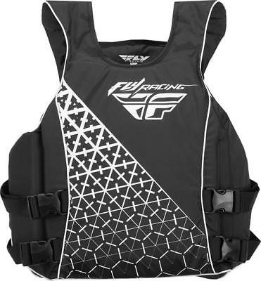 Fly Racing Pullover Life Vest Black/White Medium