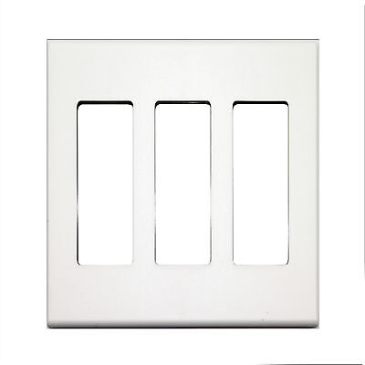 Control 4 Ac-Wp3-W 3 Gang Decora Face Wall Plate White