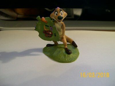 Disney  Lion King - Timon With Bugs   Pvc Figure Cake Topper