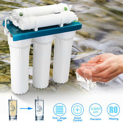 5 Stage Undersink Water Filter System Driking Ultrafiltration Membrane Purifier