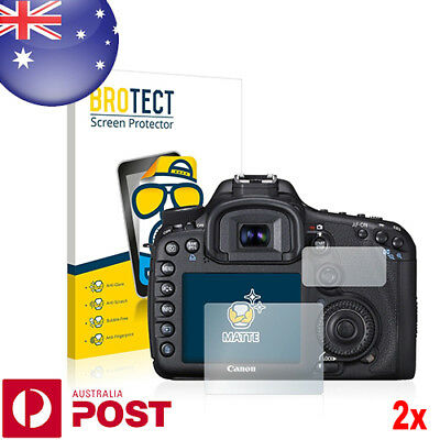 2x BROTECT® Matte Screen Protector for Canon EOS 7D - P017A