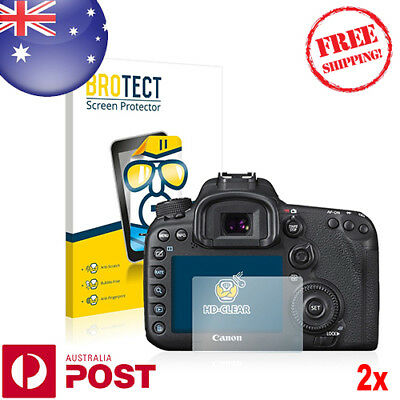 2x BROTECT® HD Clear Screen Protector for Canon EOS 7D Mark II - P018AF