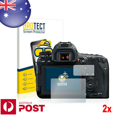 2x BROTECT® Matte Screen Protector for Canon EOS 6D Mark II - P019C