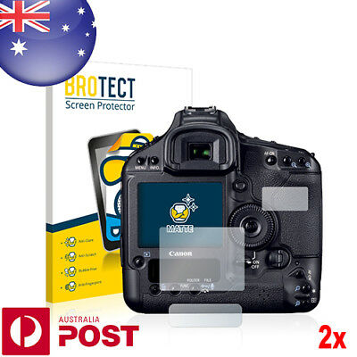 2x BROTECT® Matte Screen Protector for Canon EOS 1D Mark IV - P021A