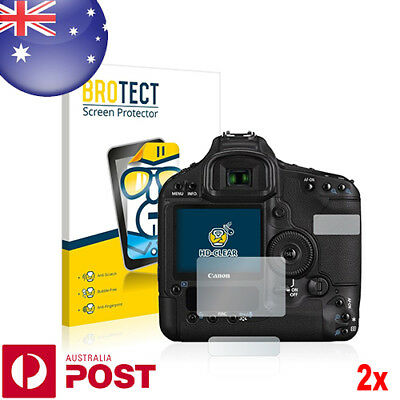 2x BROTECT® HD Crystal Clear Screen Protector for Canon EOS 1D Mark III - P022A