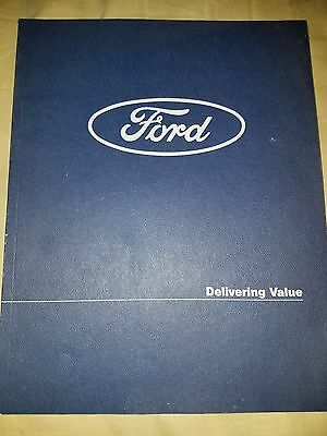 1997 FORD MOTOR  ANNUAL REPORT Thunderbird Mustang Taurus F150  Focus 97