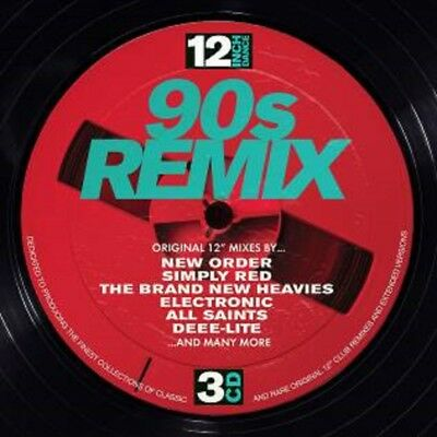 12 Inch Dance - 90s Remix - New 3CD Album