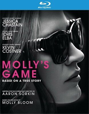 Mollys Game (Blu-ray Disc ONLY, 2018)