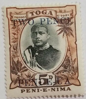 Toga  Unused/lh  Stamp Scu311Ss....worldwide Stamps