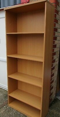 Shelving Unit / Bookcase / Shelving - 4 Adjustable Shelves - 80cmW x 194cmH