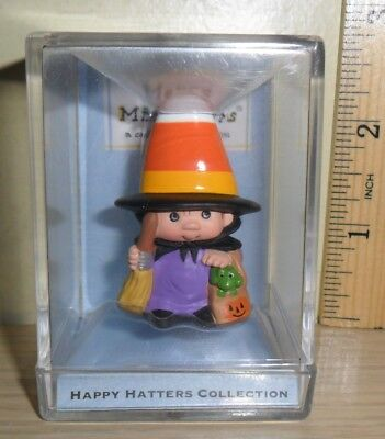 Year 2000 Hallmark Merry Miniatures Happy Hatters Collection ~ Candy Capper