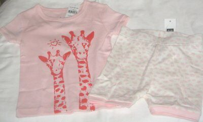 NWT Girls 12-18 Months GAP 2 Pc Cotton Pajama Set NEW