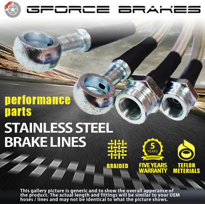 Stainless Steel Brake Lines for 1980-1985 Mereceds Benz E Class W123