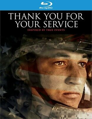 Thank You for Your Service (Blu-ray Disc, 2018)