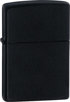 Zippo 218 Classic Black Matte Finish Lighter Gift Box