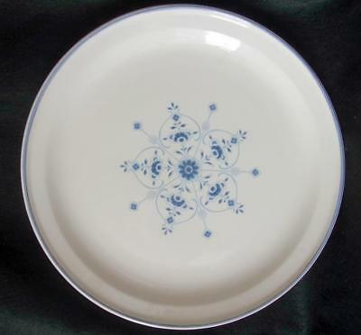 "Carrigaline Pottery Large Plate 11 3/4""  County Cork Ireland Blue & White"
