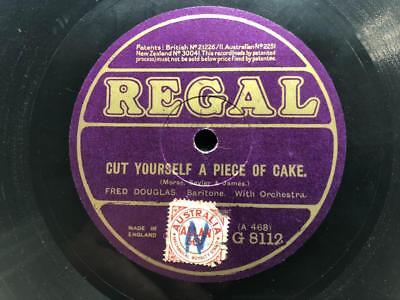 THE TWO GILBERTS BARNIE GOOGLE / CUT YOURSELF A PIECE OF CAKE 78rpm **LISTEN**75