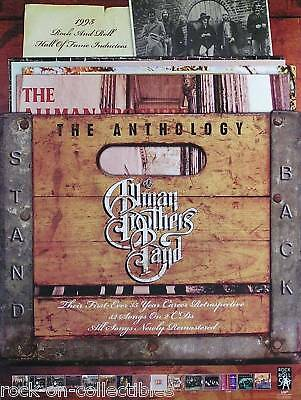 Allman Brothers Band 2004 Anthology Promo Poster Original