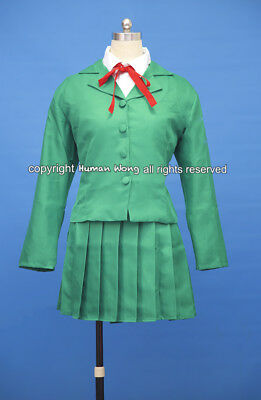 Magic Knight Rayearth Fuu Hououji School Cosplay Costume Size M