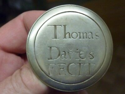 "19th CENTURY 2 1/16"" BRACKET CLOCK NAME BOSS - THOMAS DAVIES (D)"