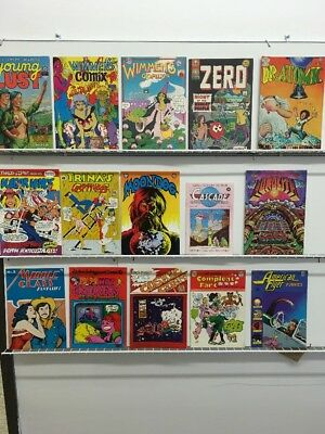 Underground Comics Lot Of 15 Comix Mixed Titles Wimmens America Vintage