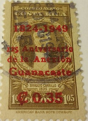 Costa Rica   Scott#c-182   Used  Stamp ...worldwide Stamps