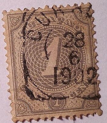 Curacao   Scott#13    Used Stamp ......worldwide Stamps