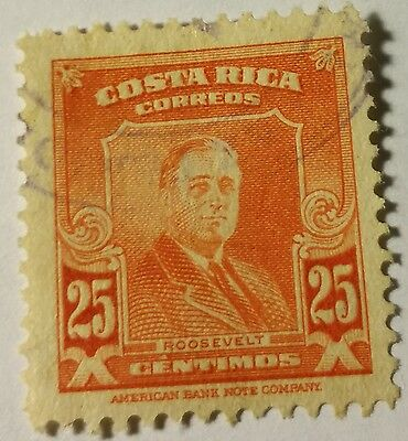 Costa Rica  Scott#254 Used... Stamp.....worldwide Stamps