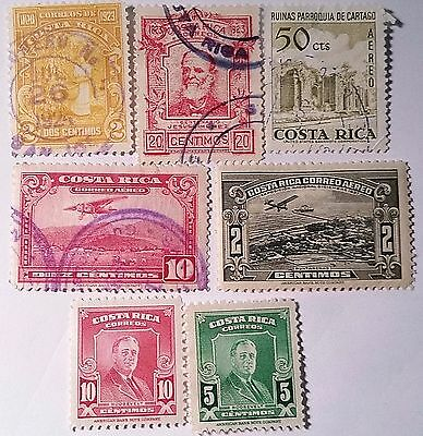 Costa Rica   Stamps   Scu363Fg.....worldwide Stamps